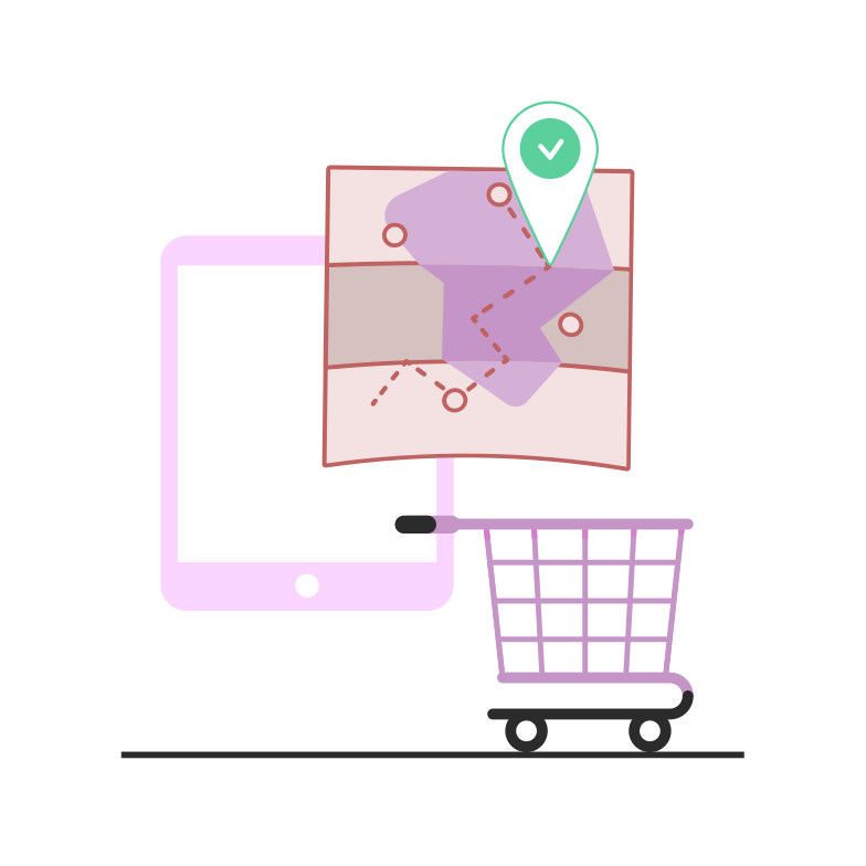 style  Online delivery of products Vector images in PNG and SVG | Icons8 Illustrations