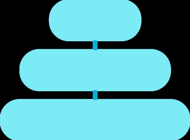 e blue gls piramida Clipart illustration in PNG, SVG