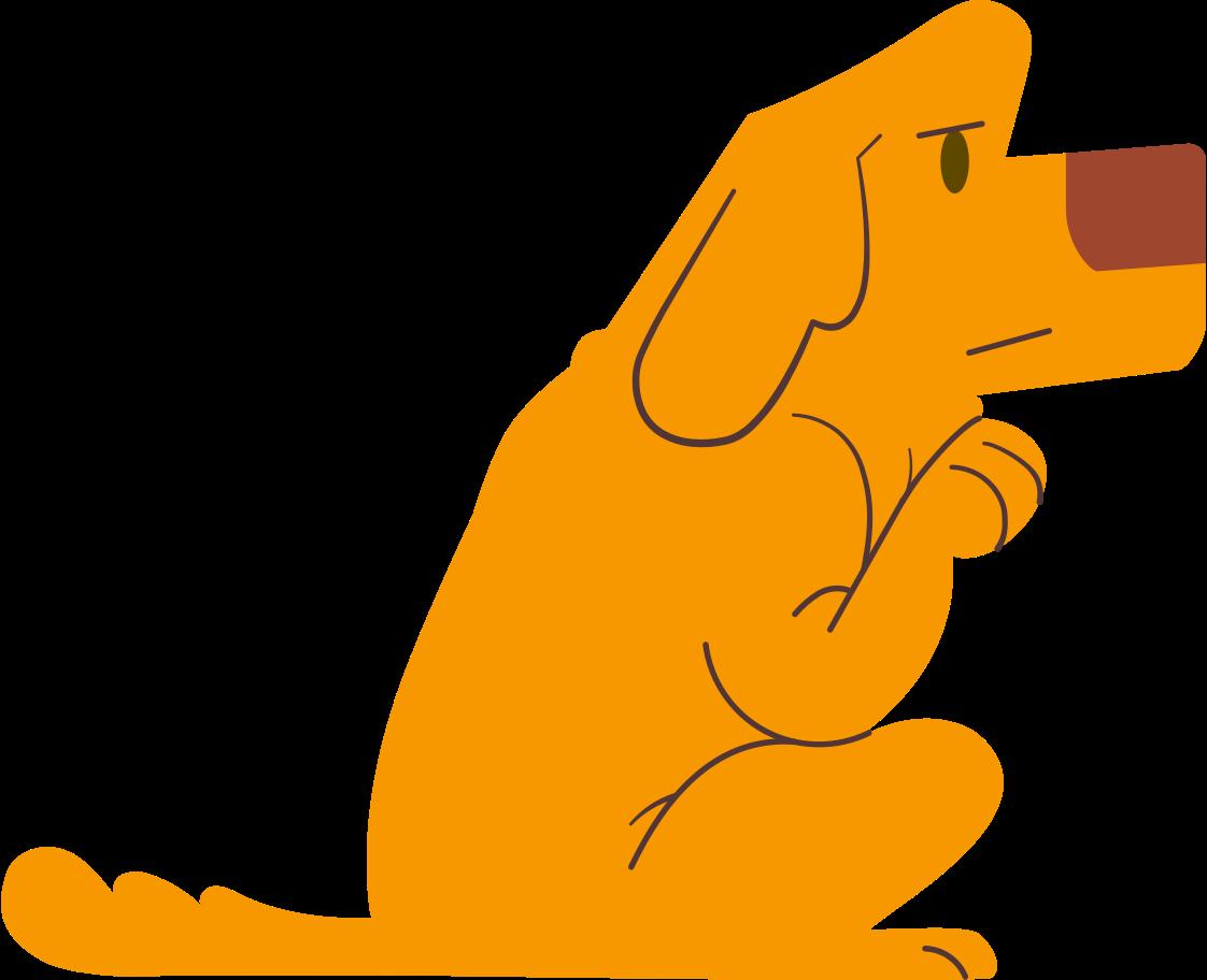Клипарт щенок в PNG и SVG