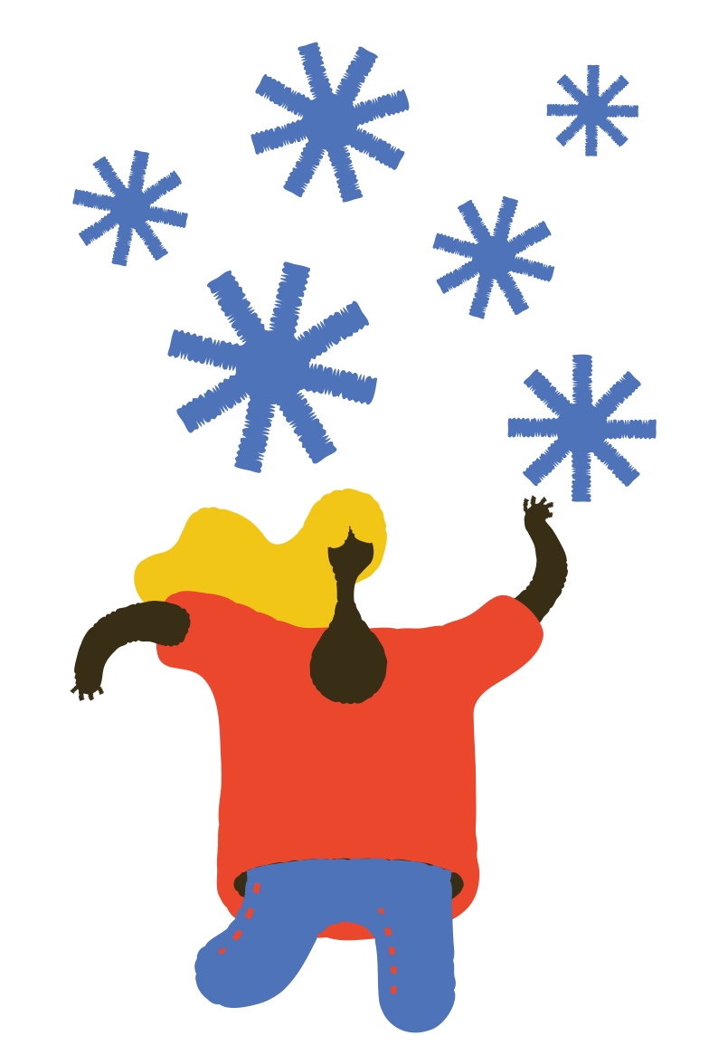 Snowfall Clipart illustration in PNG, SVG
