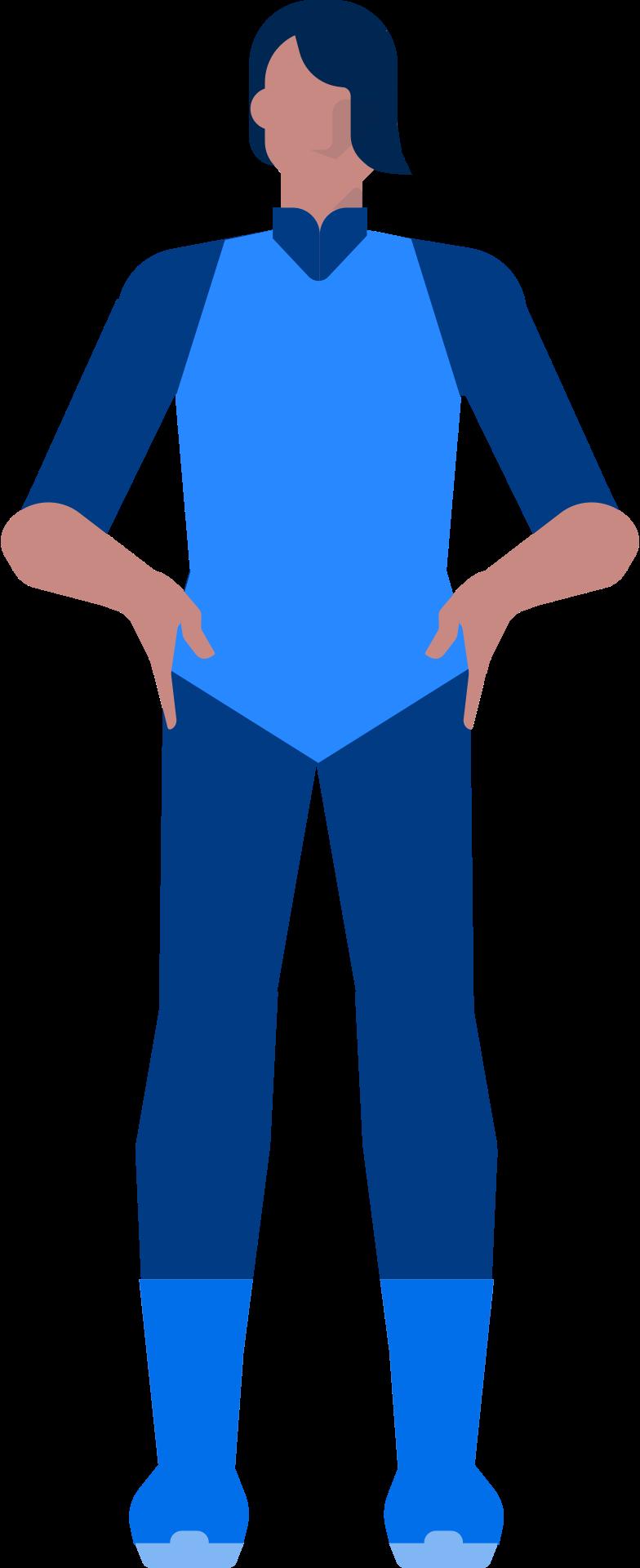 superhero Clipart illustration in PNG, SVG