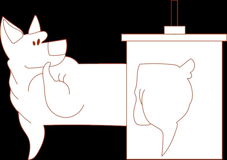 Imágenes vectoriales algo salió mal perro en PNG y SVG estilo    Ilustraciones Icons8