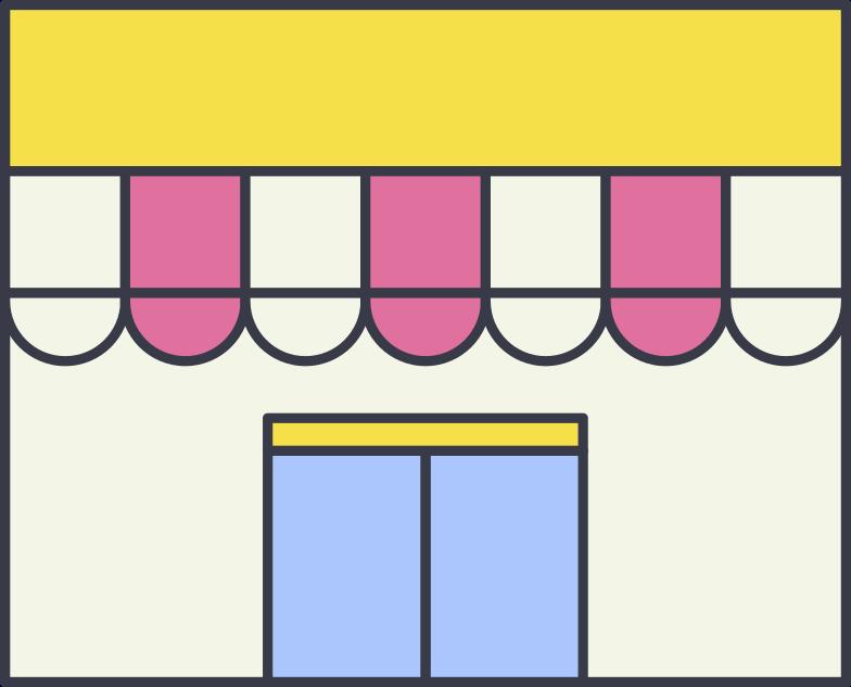 shop Clipart illustration in PNG, SVG