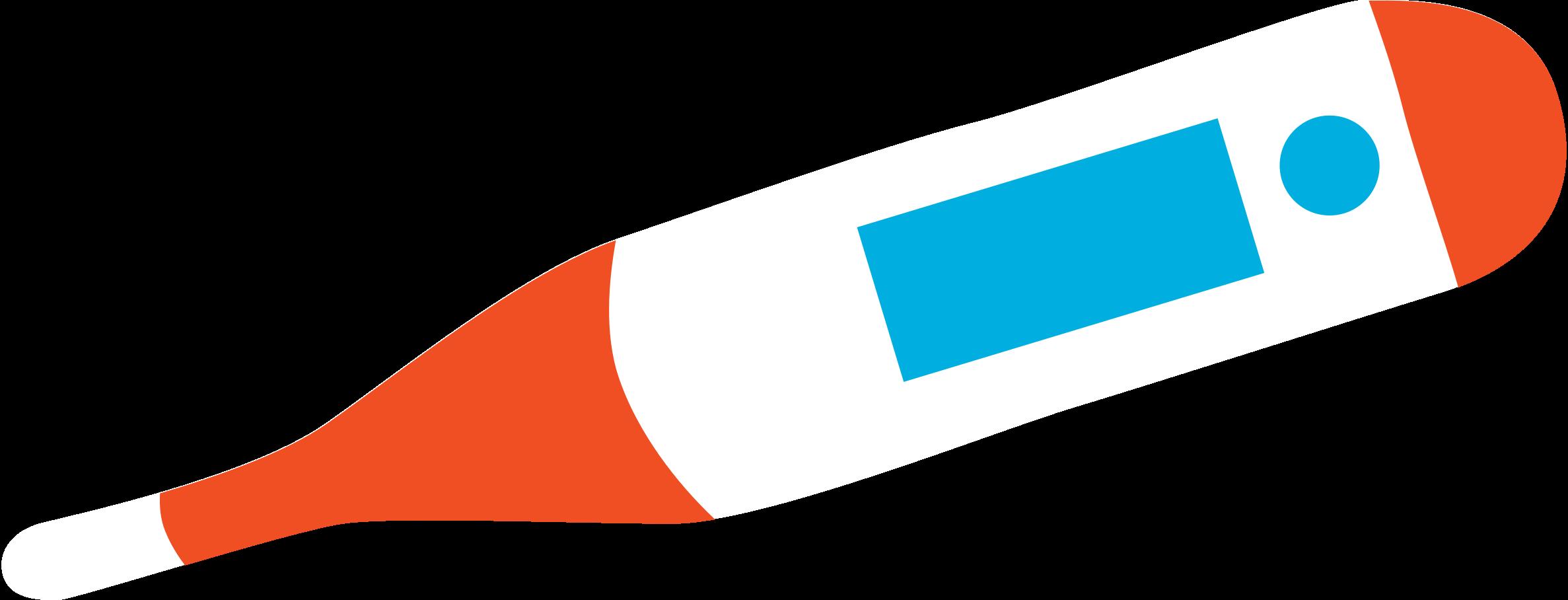 Ilustración de clipart de Termómetro en PNG, SVG