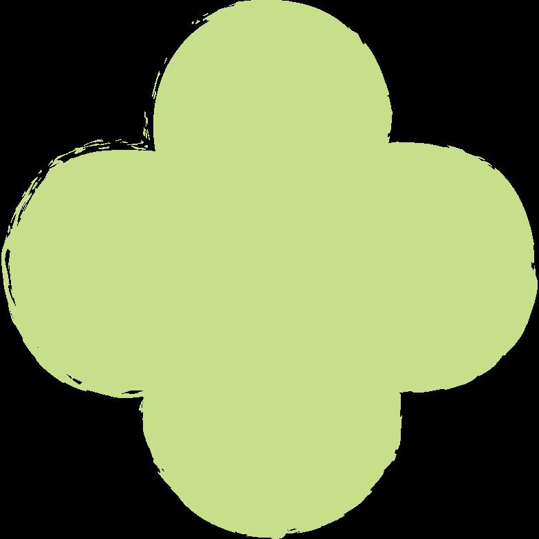 quatrefoil-light-green Clipart illustration in PNG, SVG
