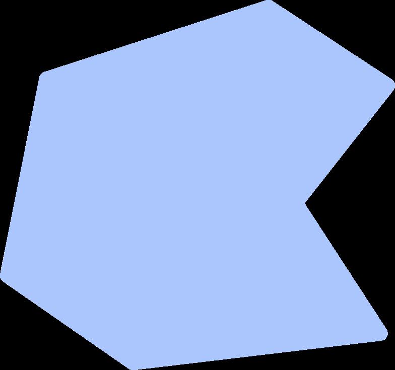 polygon shape Clipart illustration in PNG, SVG