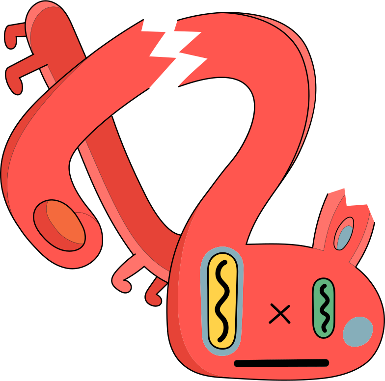 fatal error  creature Clipart illustration in PNG, SVG