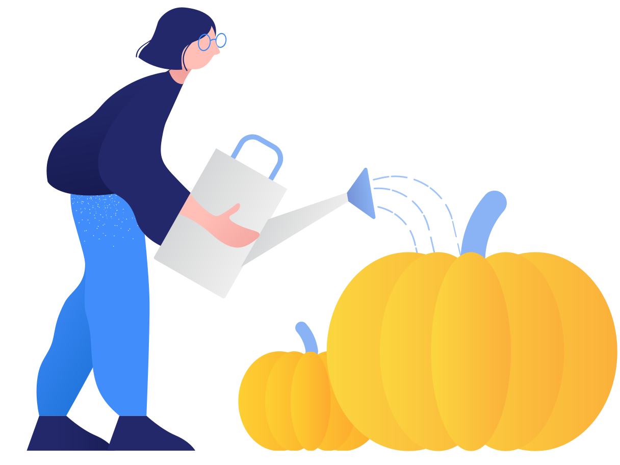 style Growing pumpkins Vector images in PNG and SVG | Icons8 Illustrations
