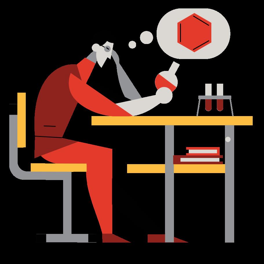 Chemist Clipart illustration in PNG, SVG