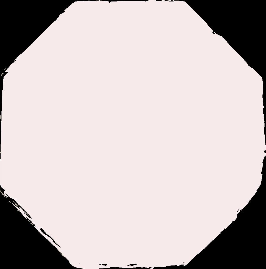 octagon-light-pink Clipart illustration in PNG, SVG