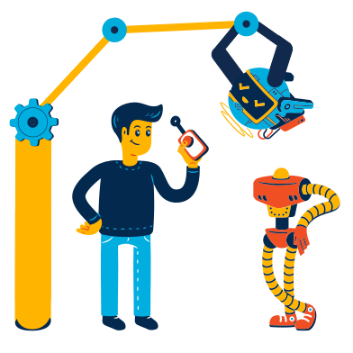 style Creating a robot images in PNG and SVG | Icons8 Illustrations