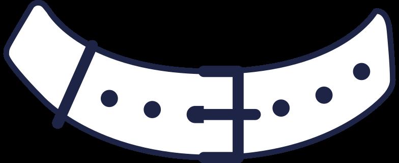 done  belt for athletic line Clipart illustration in PNG, SVG