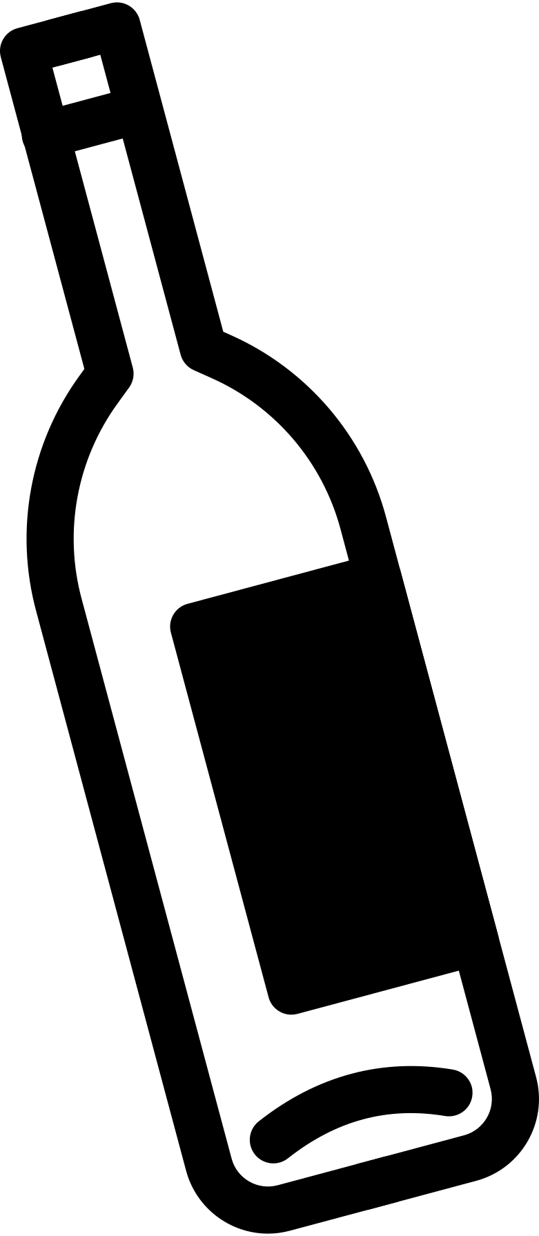 bottle small Clipart illustration in PNG, SVG