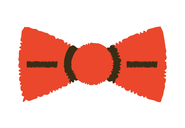 bow tie Clipart illustration in PNG, SVG