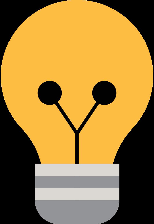 light bulb Clipart illustration in PNG, SVG