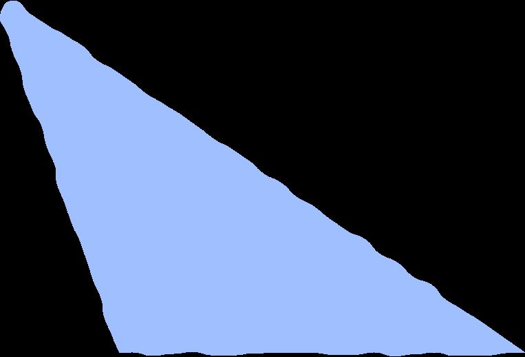 scalene light blue Clipart illustration in PNG, SVG