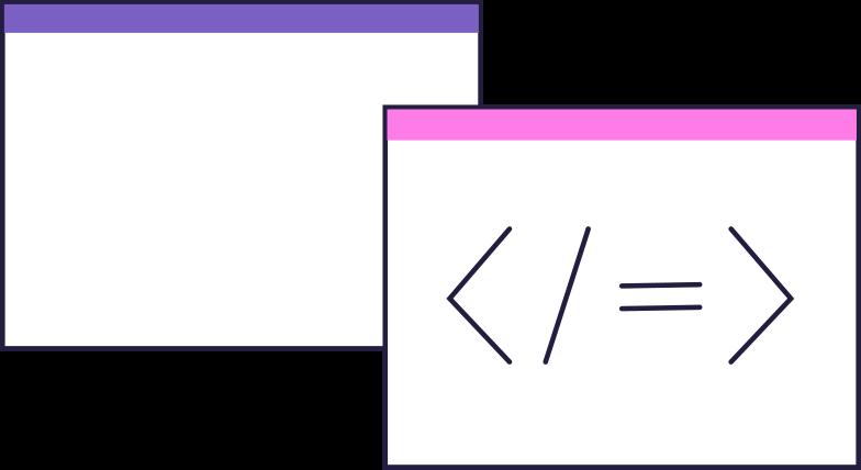 code windows Clipart illustration in PNG, SVG