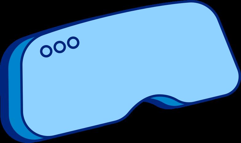 vr glasses no band Clipart illustration in PNG, SVG