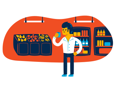 style At grocery store images in PNG and SVG | Icons8 Illustrations