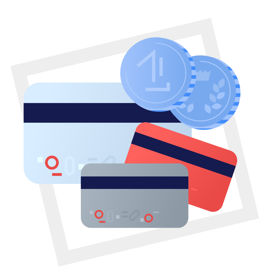 Payment method of your choice - we accept everything Clipart illustration in PNG, SVG
