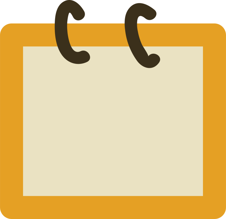notebook Clipart illustration in PNG, SVG