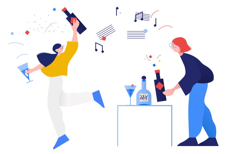 style Party time! Vector images in PNG and SVG | Icons8 Illustrations