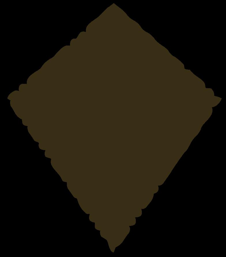 kite brown Clipart illustration in PNG, SVG