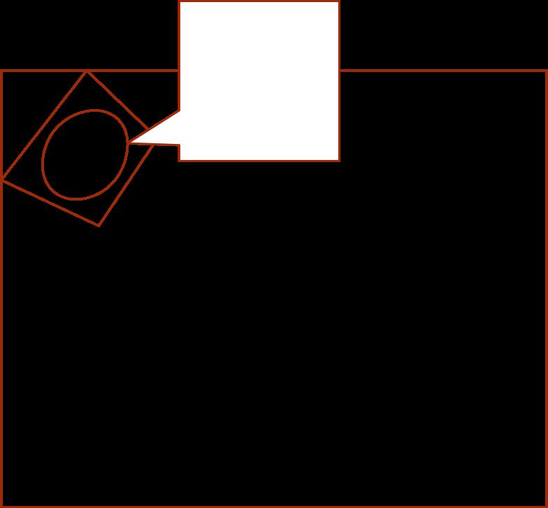 i remote work tv Clipart illustration in PNG, SVG