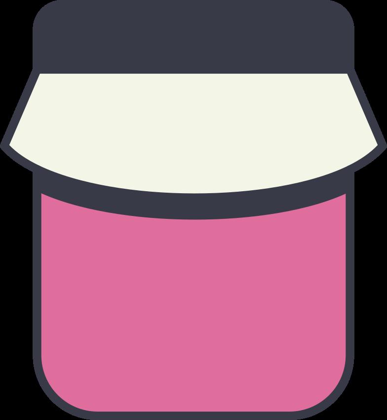 jam jar Clipart illustration in PNG, SVG