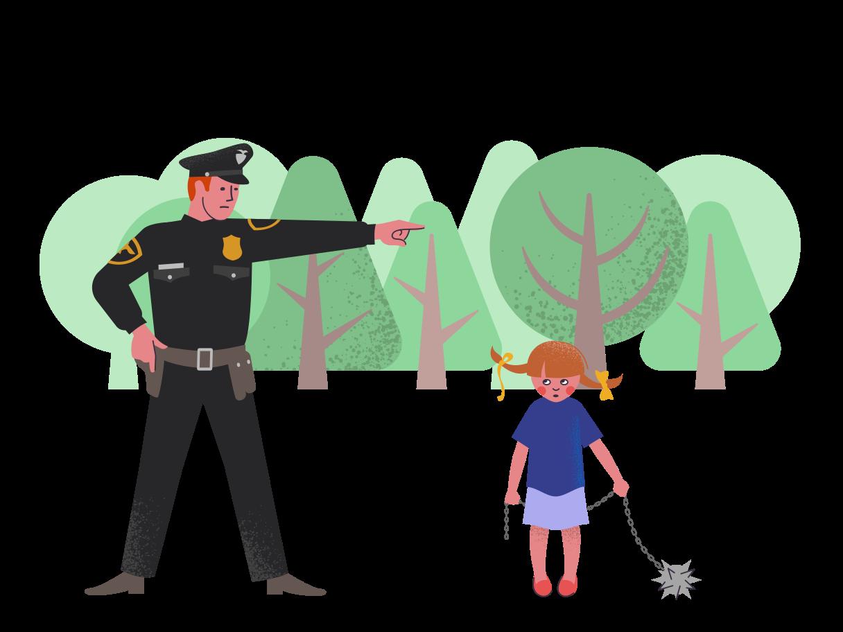 Police Clipart illustration in PNG, SVG