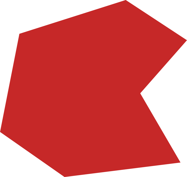 polygon red Clipart illustration in PNG, SVG
