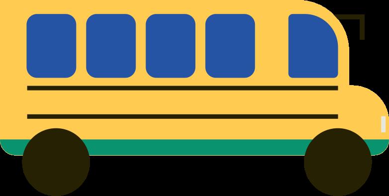 bus Clipart illustration in PNG, SVG