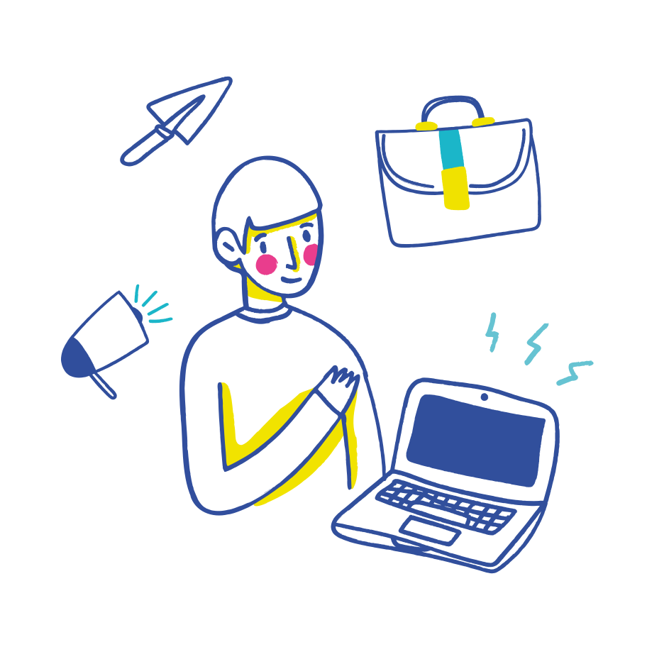 Business workflow Clipart illustration in PNG, SVG