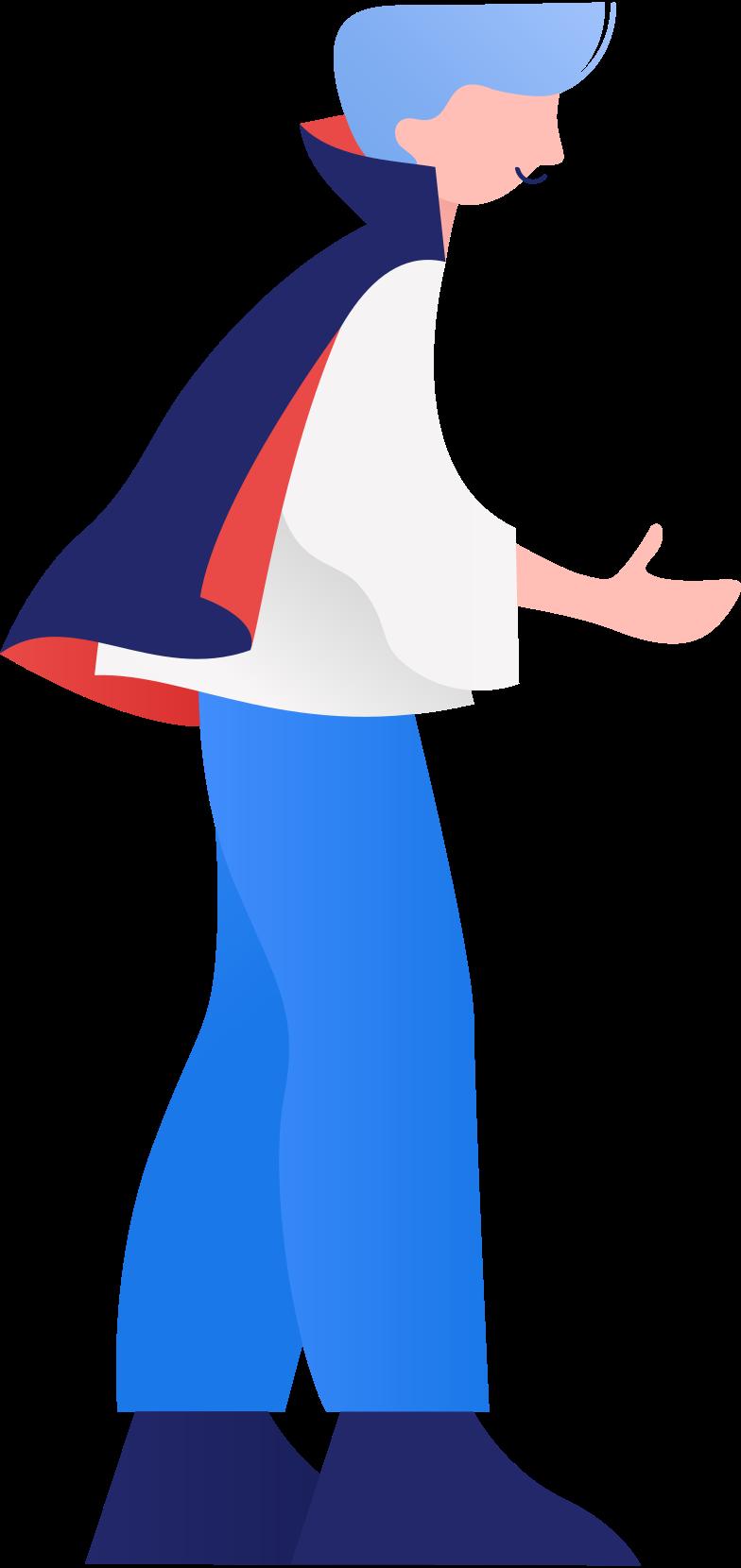 Иллюстрация Маленький дракула в стиле  в PNG и SVG | Icons8 Иллюстрации