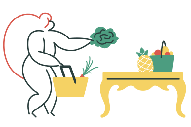 style Healthy food images in PNG and SVG | Icons8 Illustrations