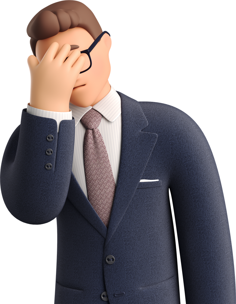 style Businessman facepalming Vector images in PNG and SVG | Icons8 Illustrations