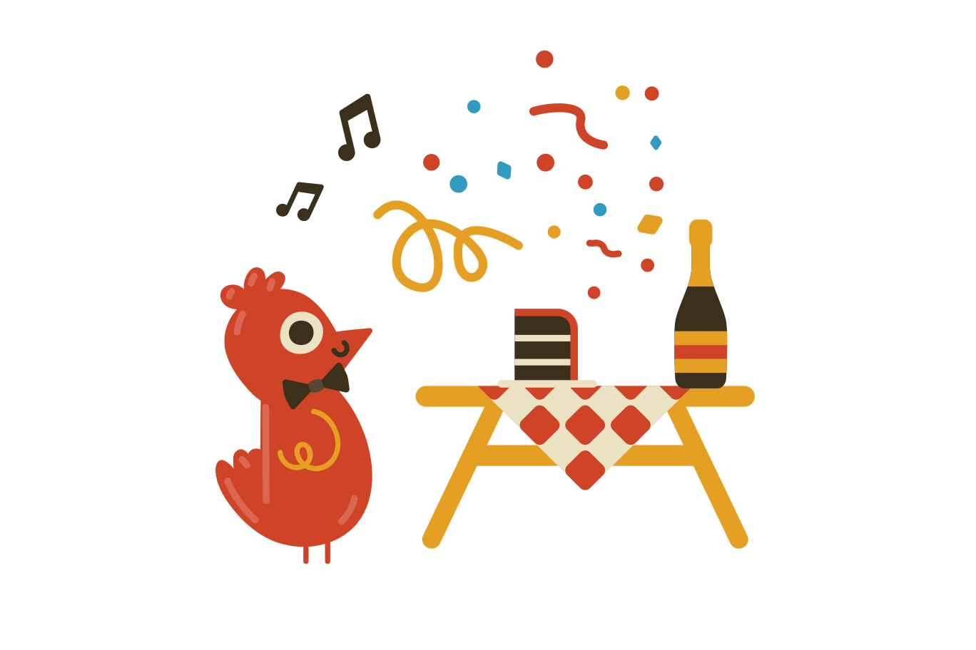 Birthday party Clipart illustration in PNG, SVG