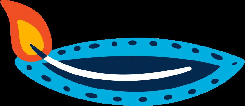 デバリのキャンドル のPNG、SVGクリップアートイラスト