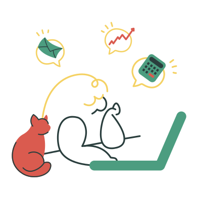 style Remote work images in PNG and SVG | Icons8 Illustrations