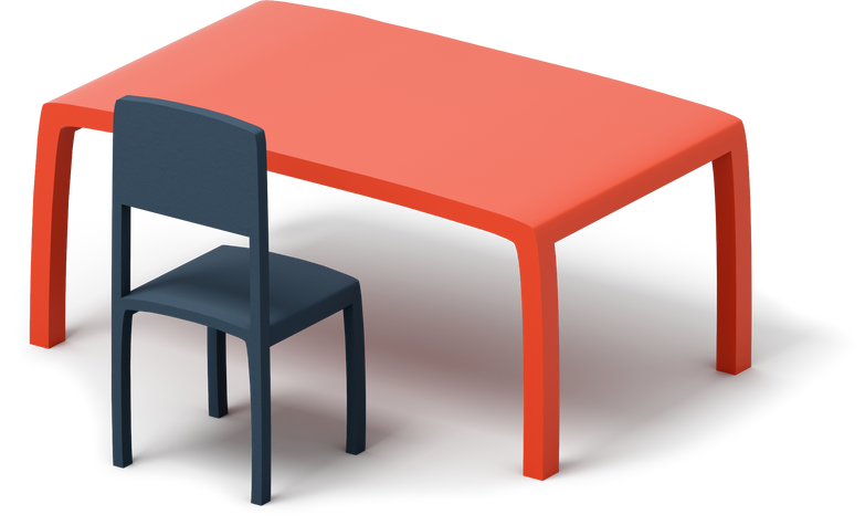 style class table with chair Vector images in PNG and SVG | Icons8 Illustrations