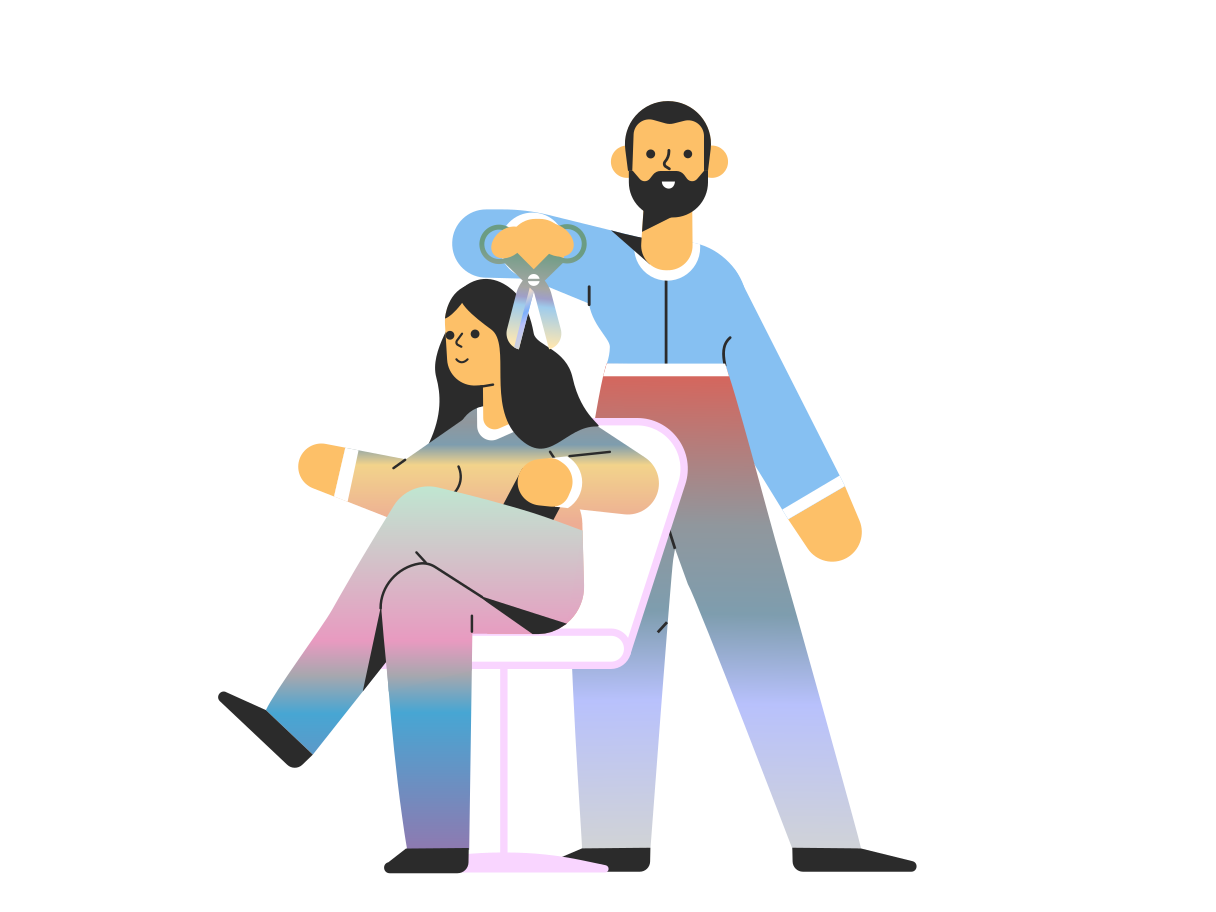 style Haircut images in PNG and SVG | Icons8 Illustrations