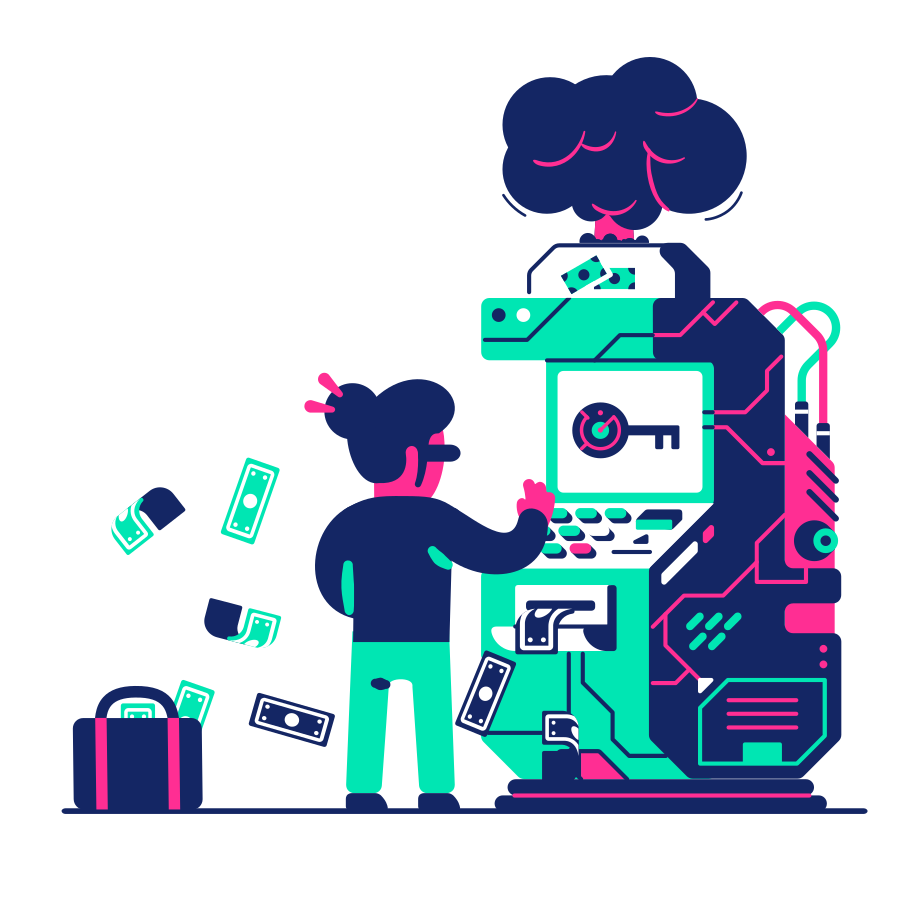 Terminal hacking Clipart illustration in PNG, SVG