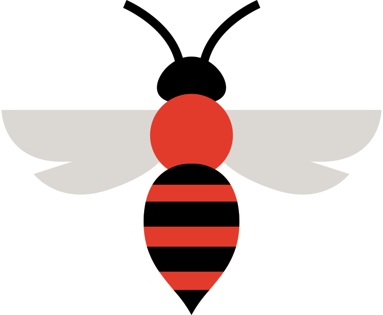 bee Clipart illustration in PNG, SVG