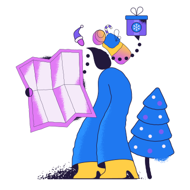 style Delivering gifts images in PNG and SVG | Icons8 Illustrations