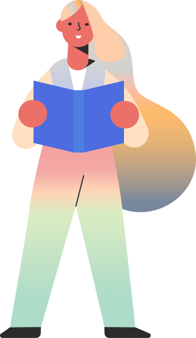 style girl reading skin tone images in PNG and SVG | Icons8 Illustrations