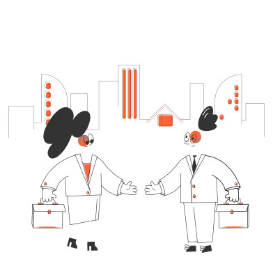 style Business negotiation images in PNG and SVG | Icons8 Illustrations