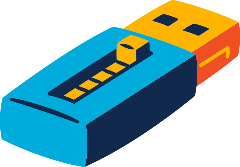 usb flashdrive Clipart illustration in PNG, SVG