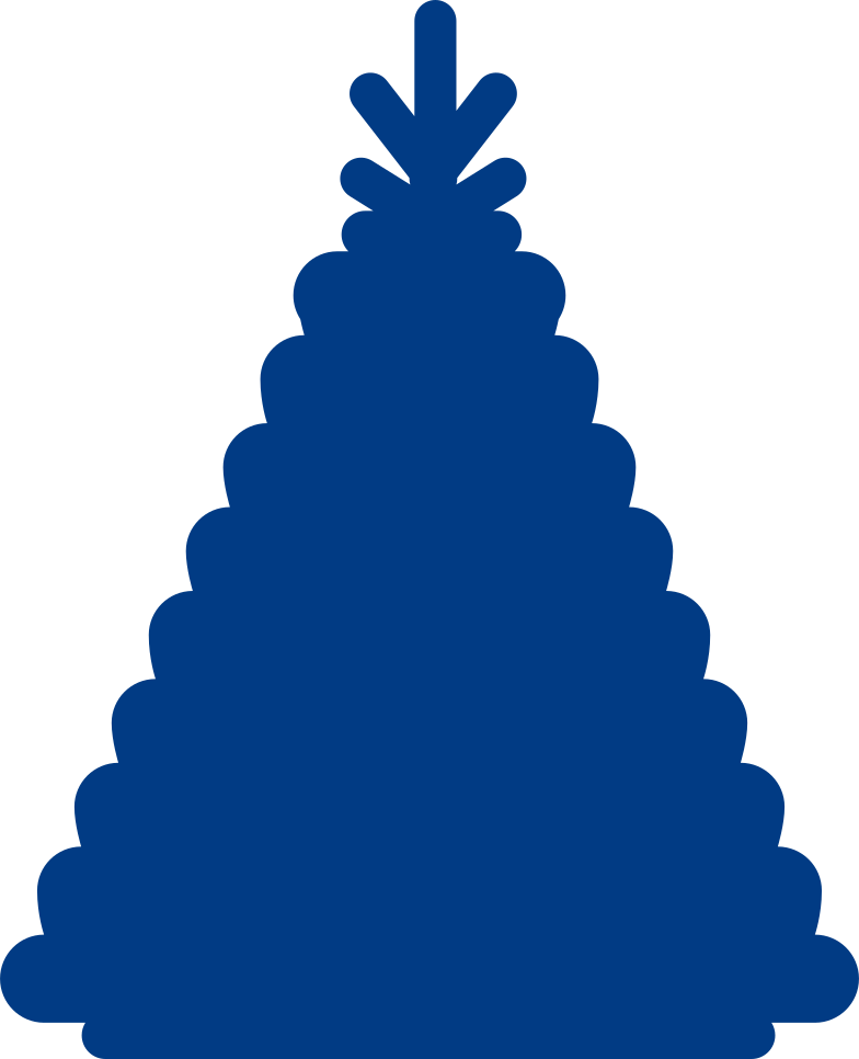 new year tree Clipart illustration in PNG, SVG
