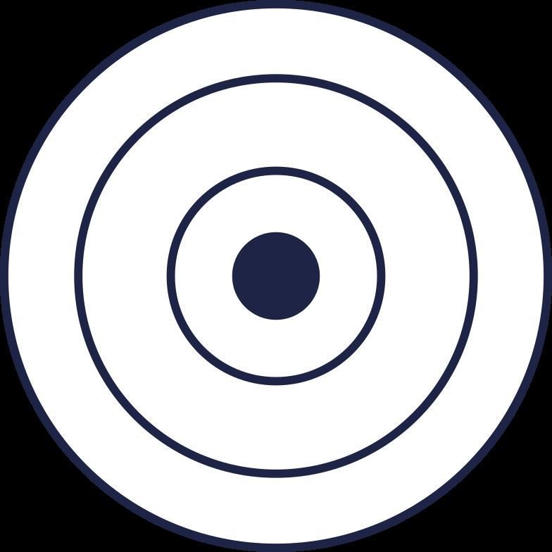 disc for barbell 1 line Clipart illustration in PNG, SVG