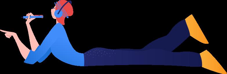 student Clipart-Grafik als PNG, SVG